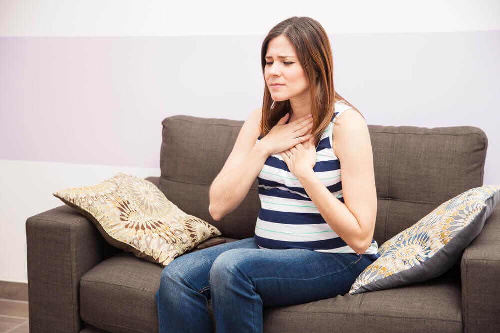 reflux v tehotenstve